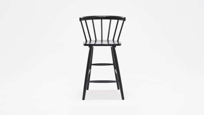 3020 270 par 1 stools lyla arm chair counter black front 02