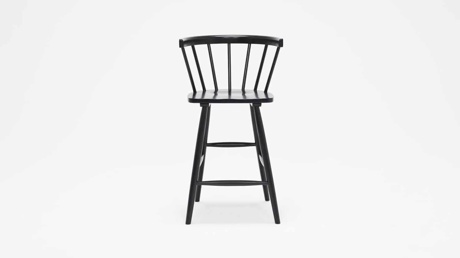 3020 271 par 1 stools lyla arm chair counter black front 02