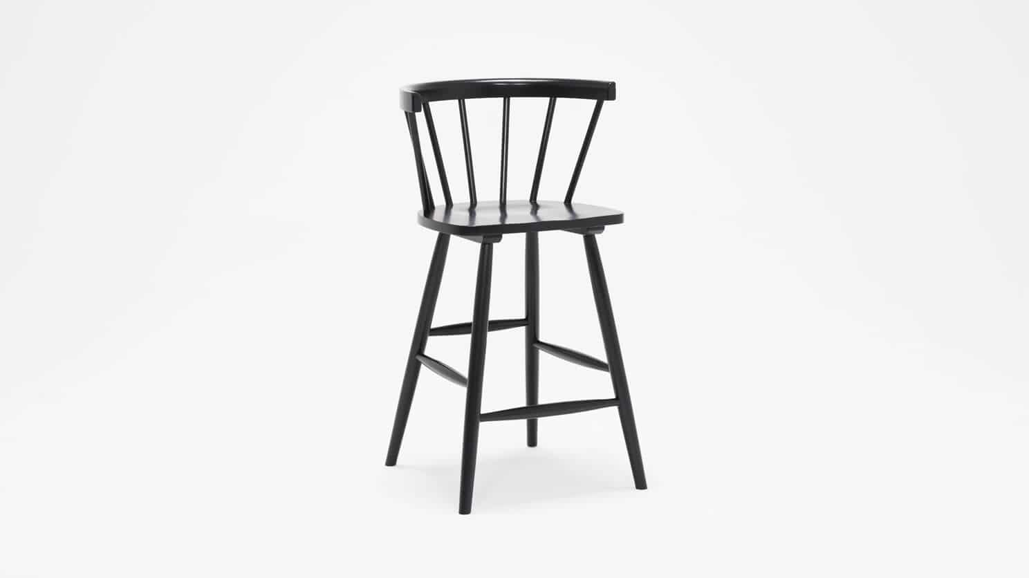 3020 271 par 2 stools lyla arm chair counter black corner 01