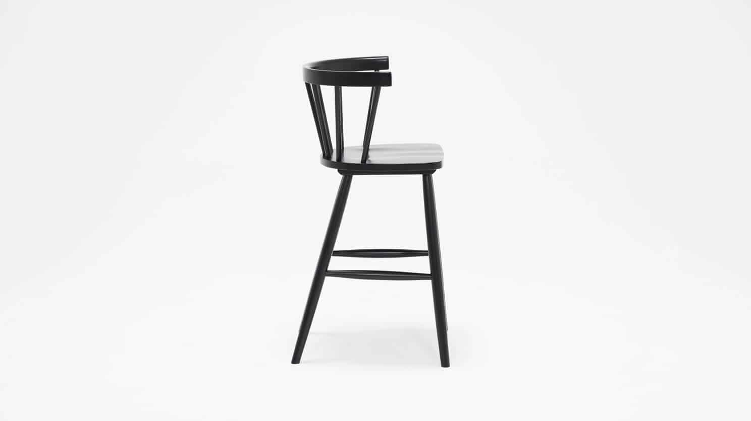 3020 271 par 3 stools lyla arm chair counter black side 01