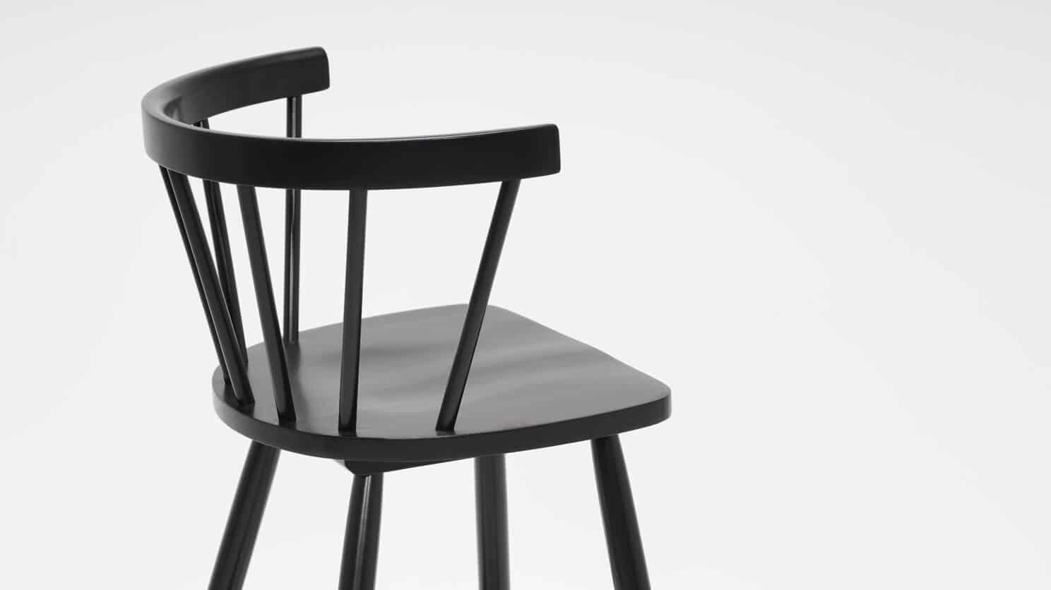 3020 271 par 4 stools lyla arm chair counter black detail 01