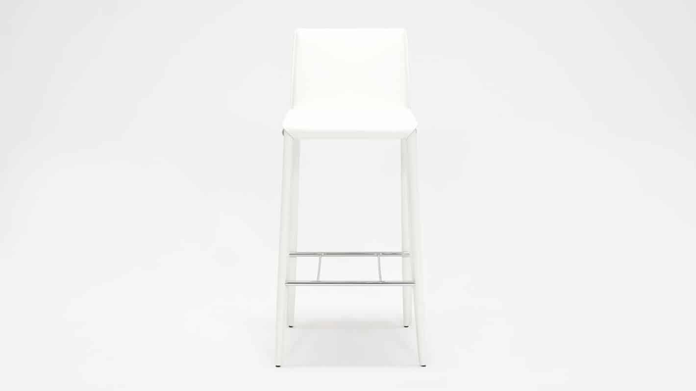 3020 272 31 1 counter chairs low back bar chair white front 01