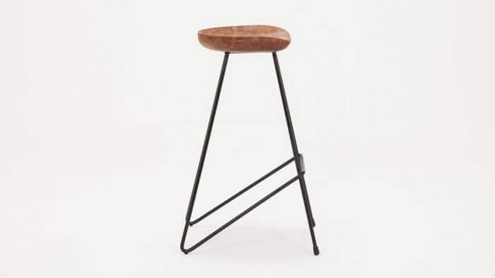3020 274 par 2 counter chairs dawn counter stool black legs tall side 01