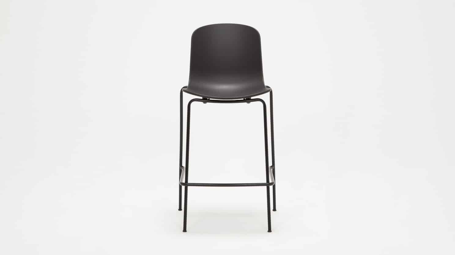 3020 292 par 5 counter chairs holi counter stool black front 02