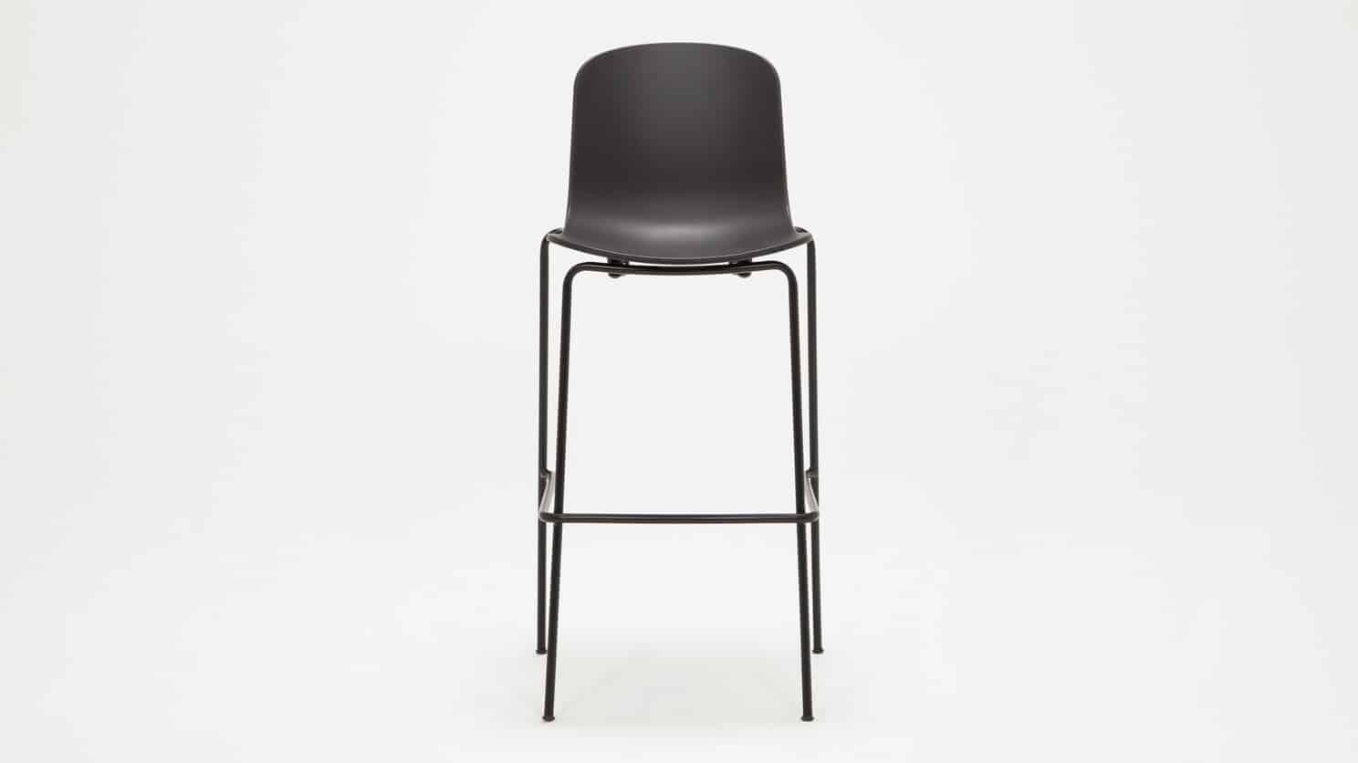 3020 293 par 5 stools holi bar stool black front 02
