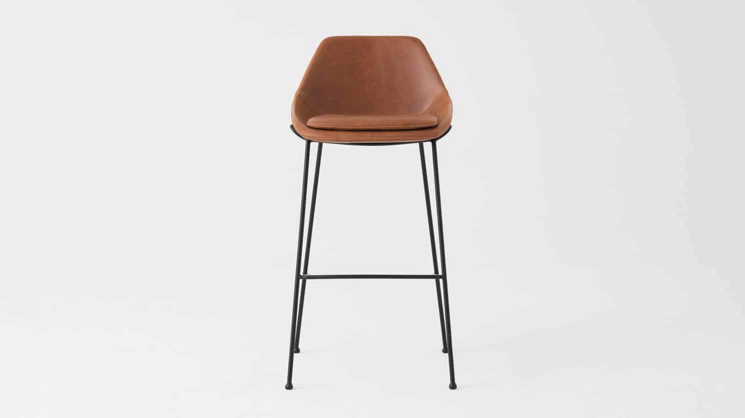3020 420 par 2 counter chairs nixon bar stool brown front 01