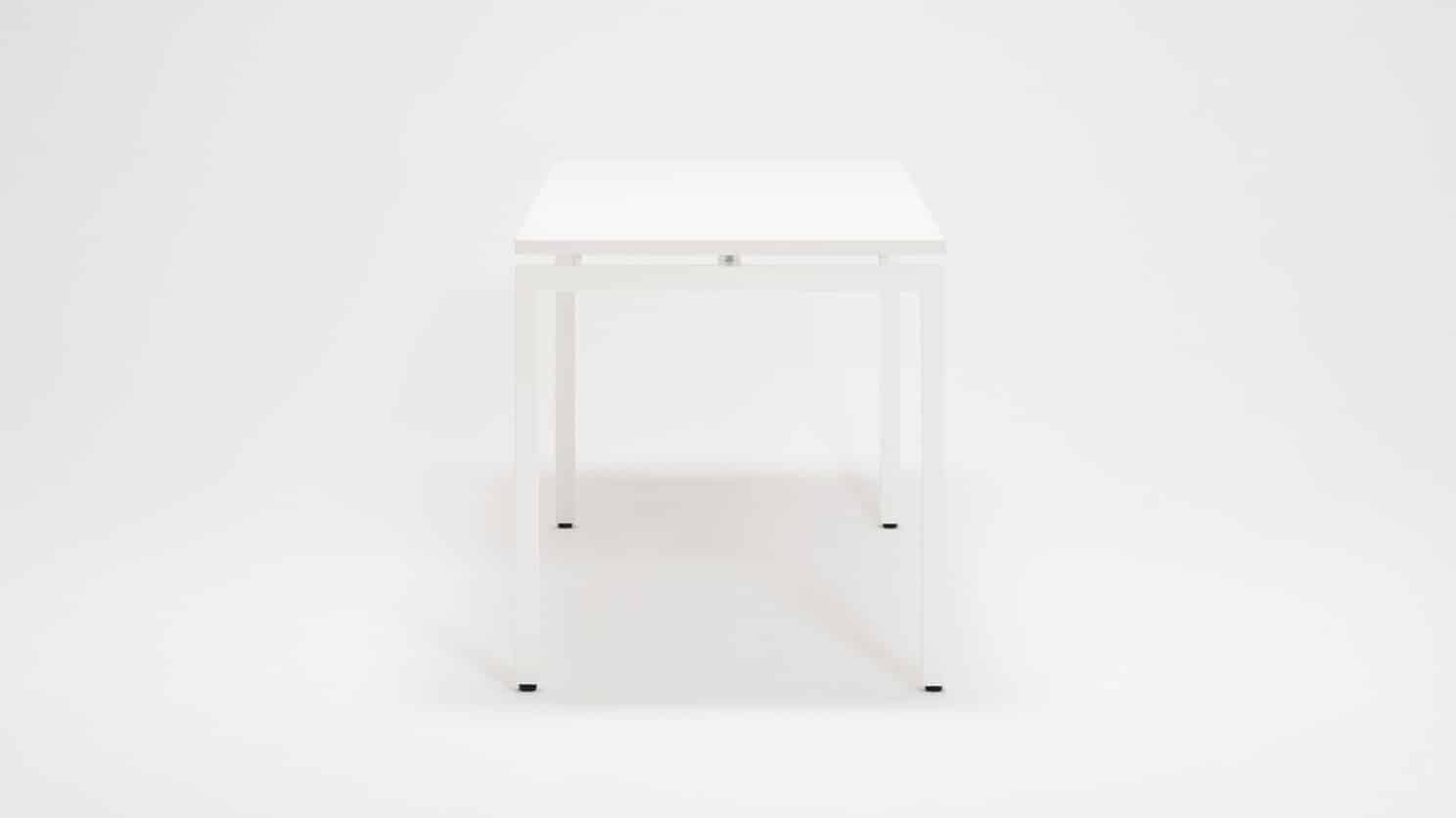 7220 100 par 3 desks novah 63 desk white top white base side 01