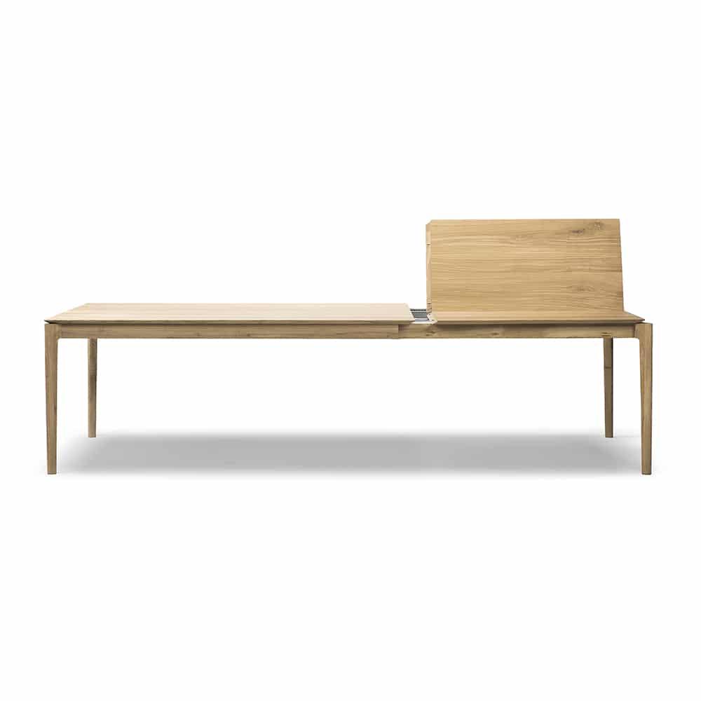 oak bok extendable dining table 1 1