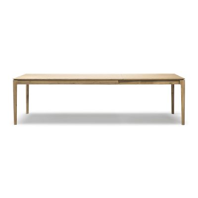 oak dining table that extends