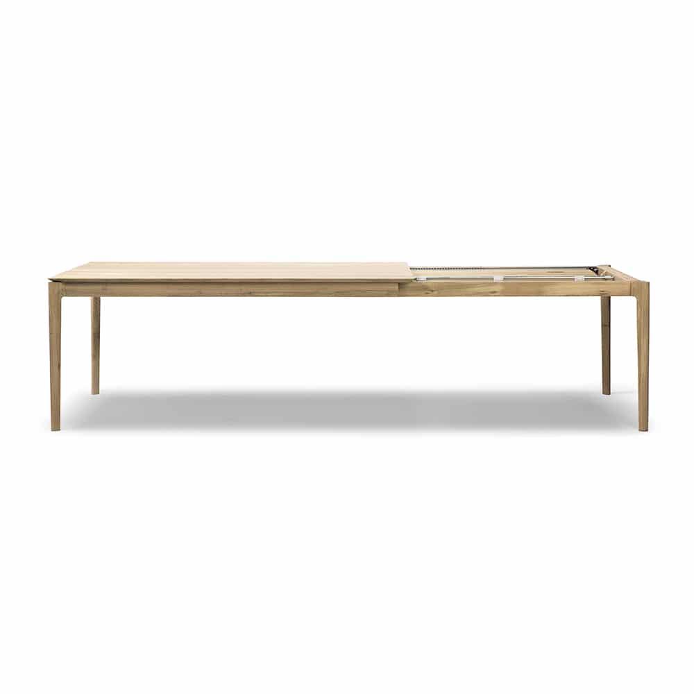 oak bok extendable dining table 3 1
