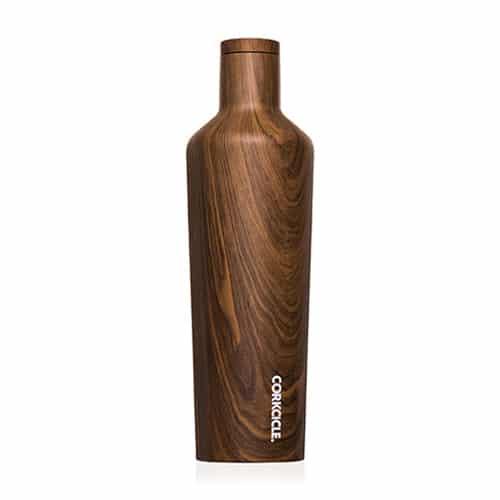 wood corkcicle bottle