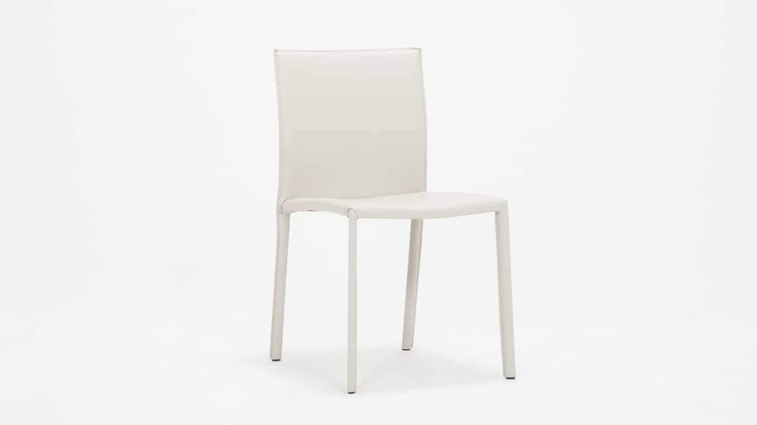 3020 383 par 6 dining chairs acel chair white corner 01
