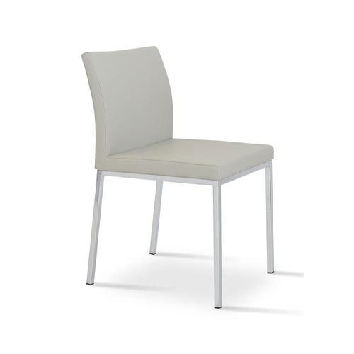 Aria Dining Chair Leather 01 500x