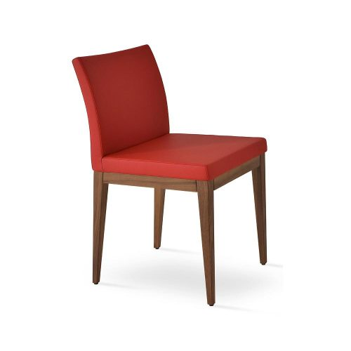 Aria Wood Dining Chair Leather 02 1500x
