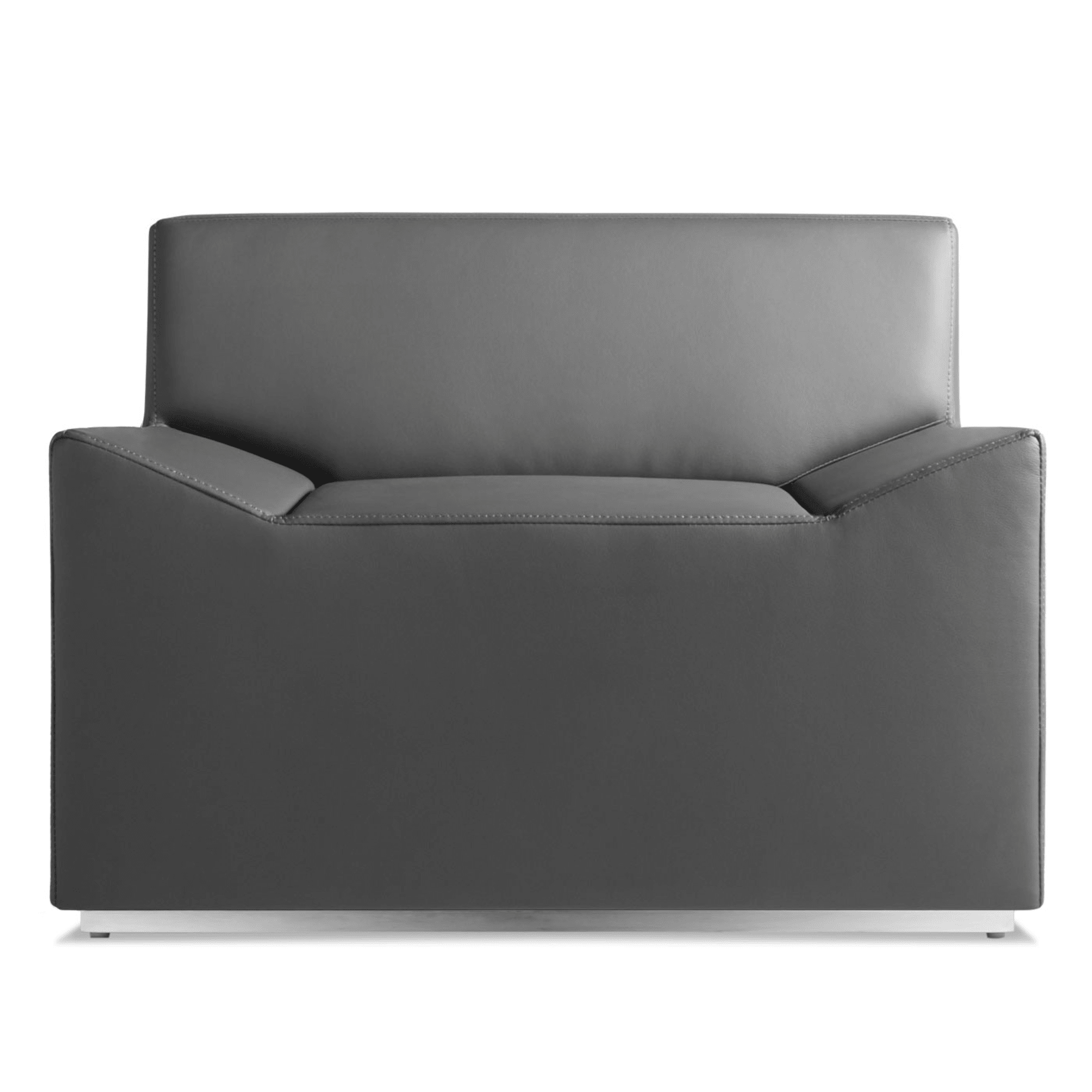 co1 lounge gy couchoid lounge chair slate