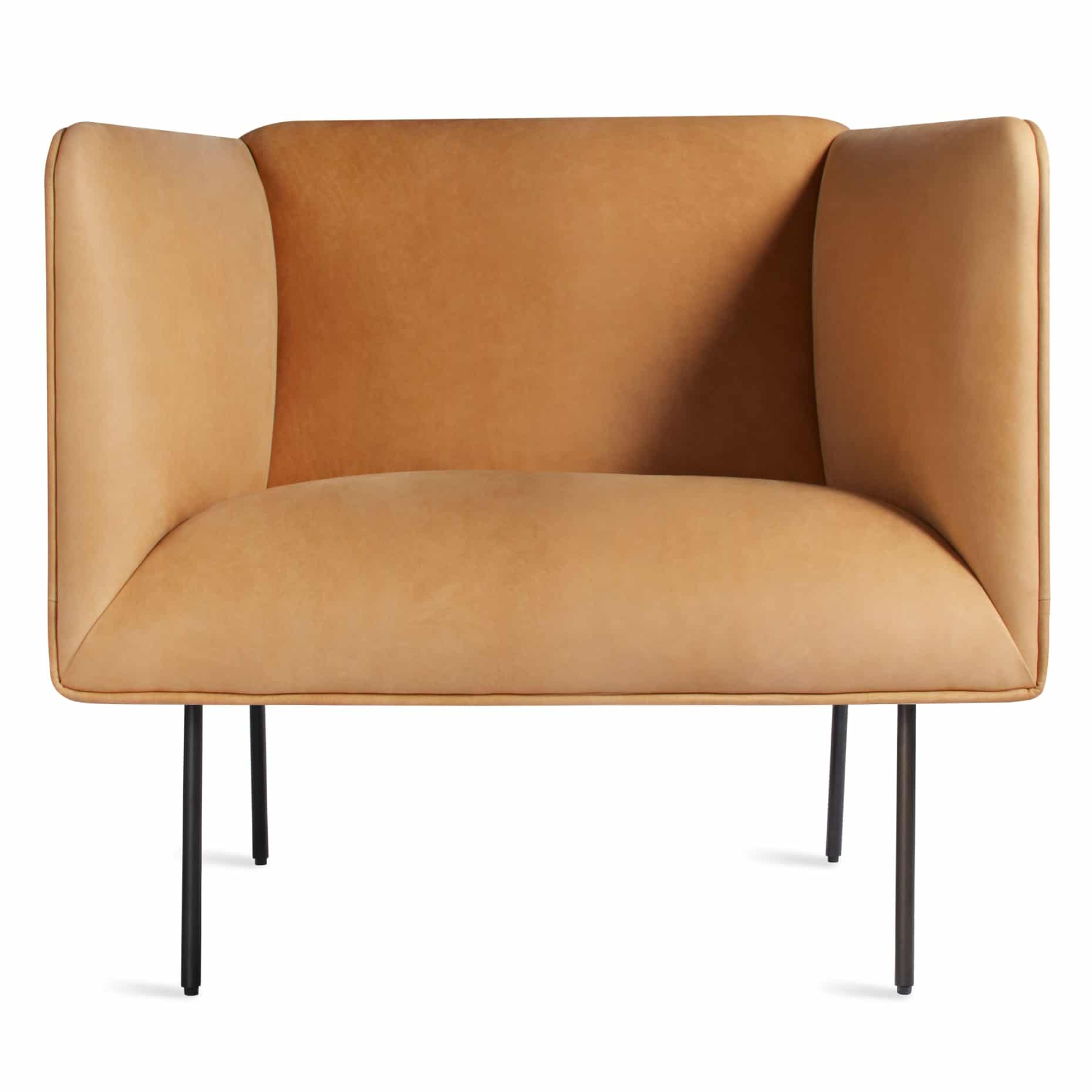 dn1 lngchr ca dandy louge chair camel leather