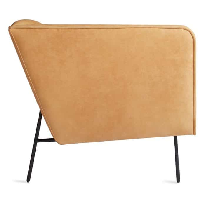dn1 lngchr ca side dandy louge chair camel leather