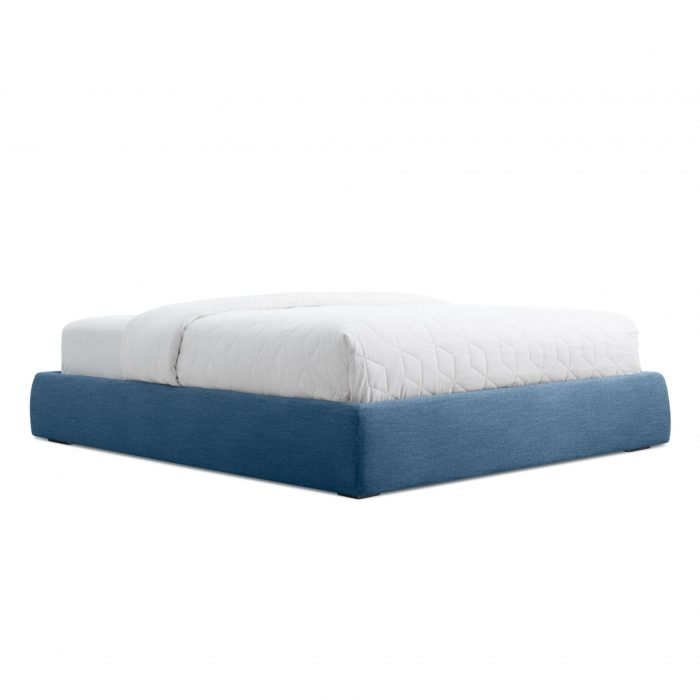 ld1 quenbd mb 34low nopillows lid queen platform storage bed thurmond marine blue 2