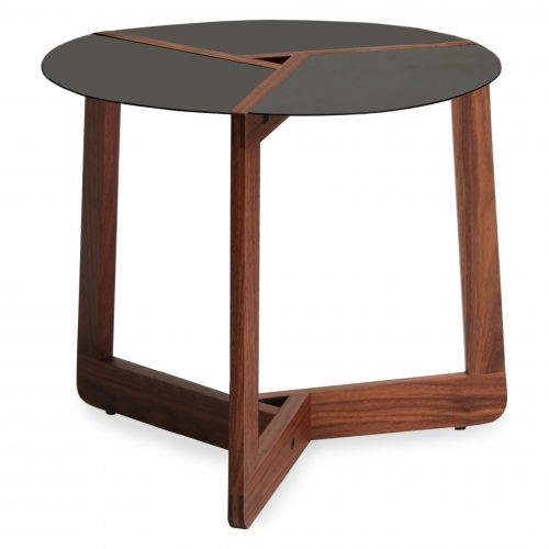 pi small modern side table walnut 2