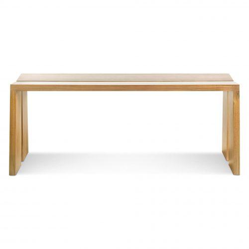 am1 45bnch ok amicable split 45 inch bench white oak
