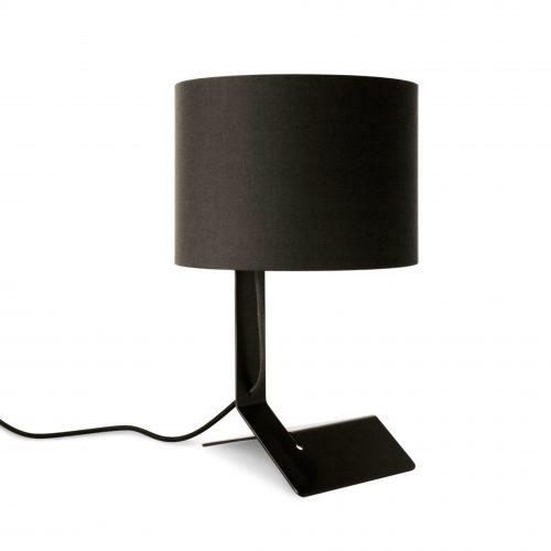 bender modern table lamp black