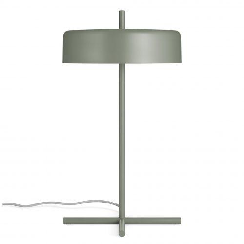 bp1 tbllmp gg frontlow bobber table lamp grey green