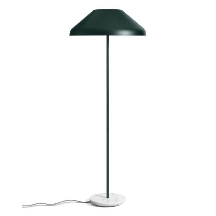 bx1 flrlmp gr beau floor lamp navy green