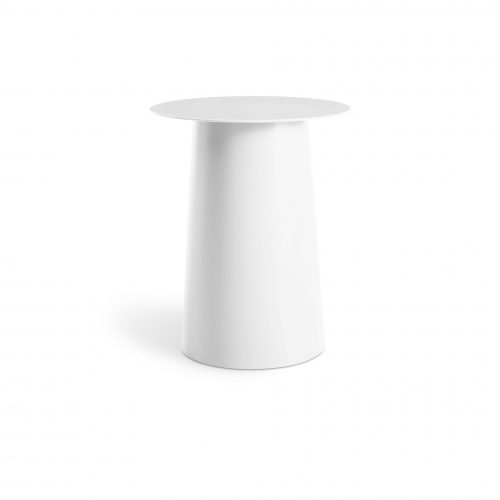 ci1 talsid wh frontlow circula tall side table white