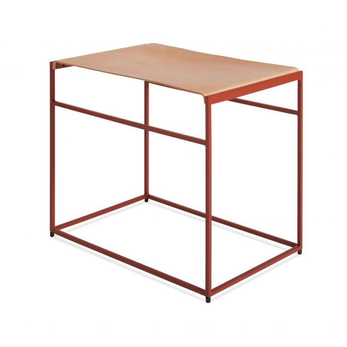 cm1 stlday rd 34 high common stool flw red day leather 1