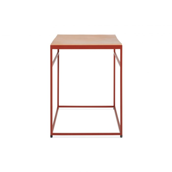 cm1 stlday rd side common stool flw red day leather 1