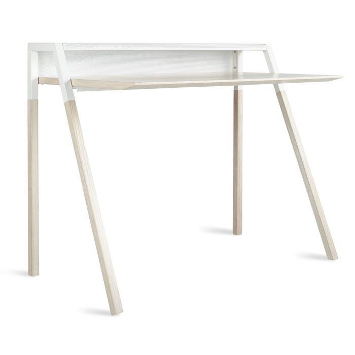 ct1 deskwl wh 3 4 cant desk white ash white 1 1