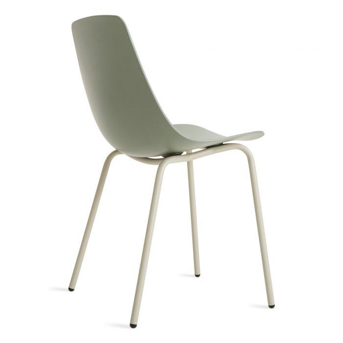 cu1 dinchr gg back34 clean cut dining chair grey green