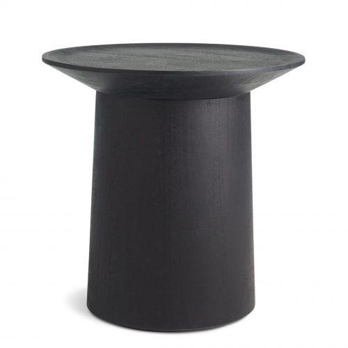 cx1 sidtal bk coco coffee tall side table black