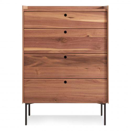 ek1 4dress wl peek 4 drawer dresser rustic walnut