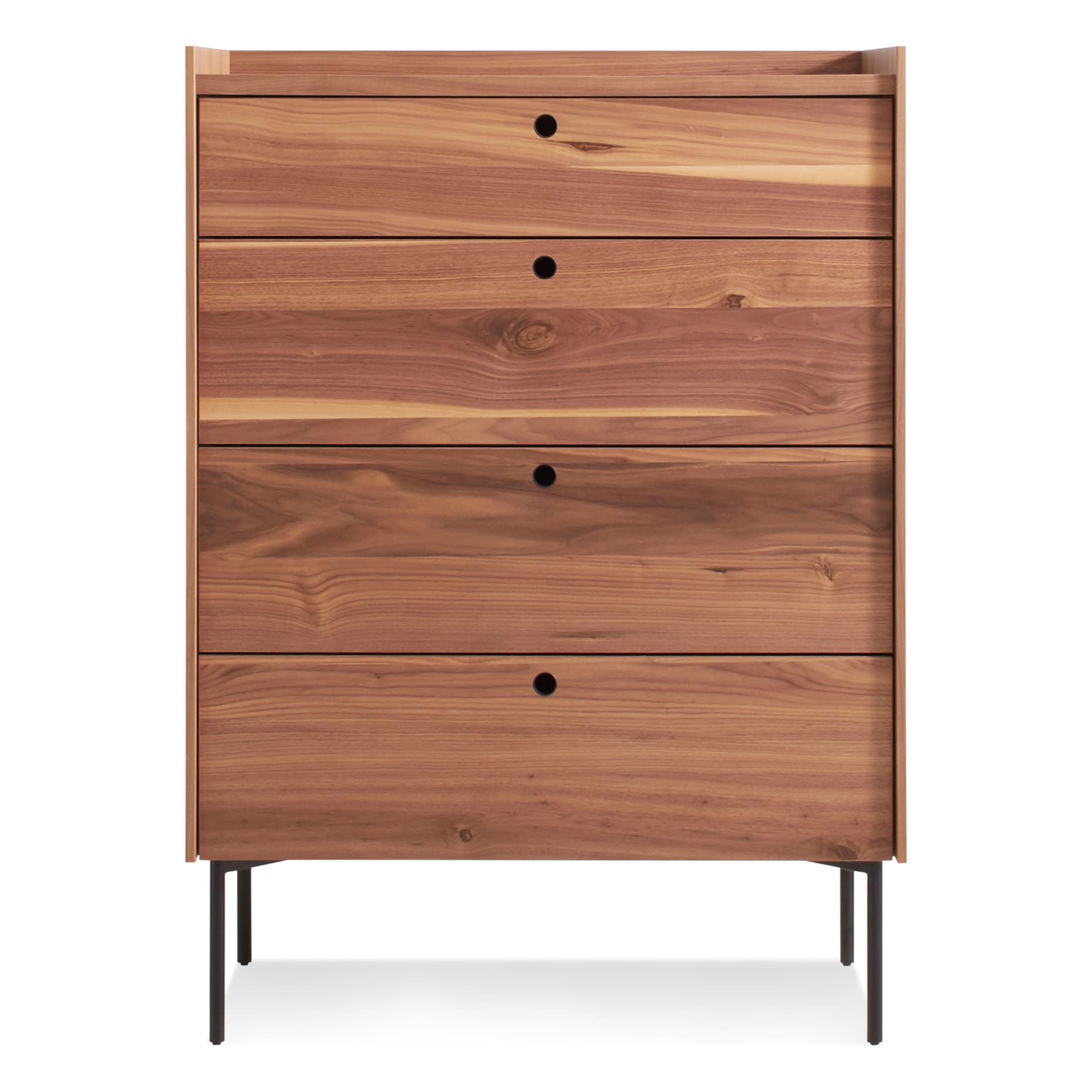 ek1 4dress wl peek 4 drawer dresser rustic walnut