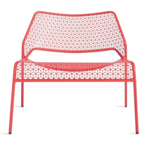 hm1 lngchr wm hot mesh lounge chair watermelon