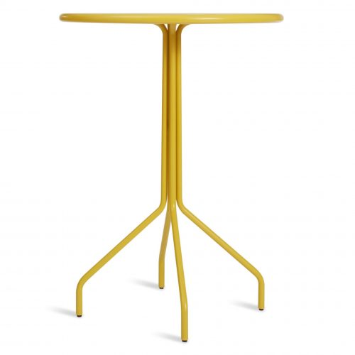 hot mesh bar table yellow low 1 2
