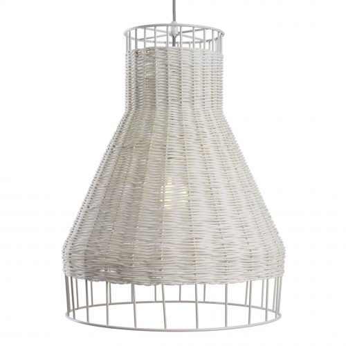 laika medium plus modern pendant light white