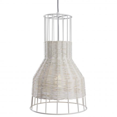 laika small modern pendant light white