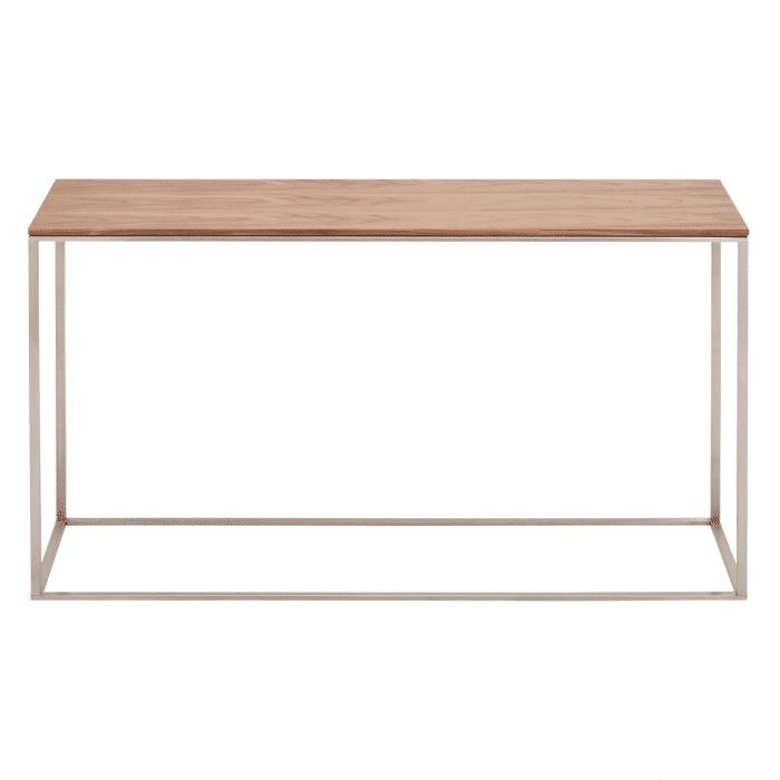 minimalista console table walnut 1