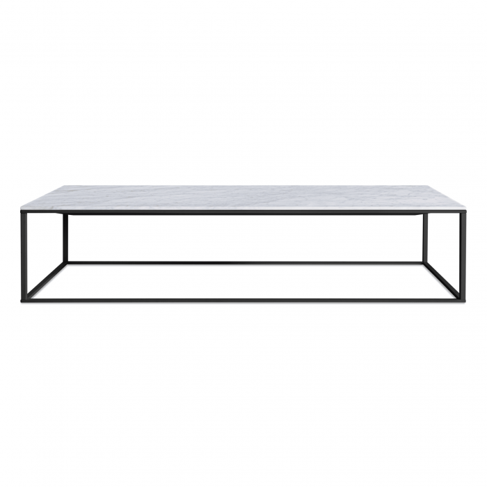 mn1 lcofbk mb minimalista large coffee table black marble