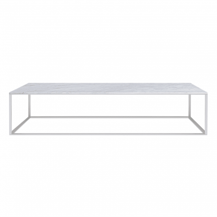 mn1 lcofss mb minimalista large coffee table stainless steel marble