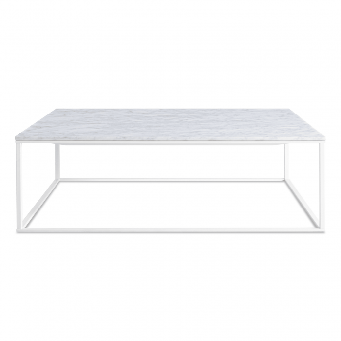 mn1 sqcfwh mb minimalista square coffee table white marble