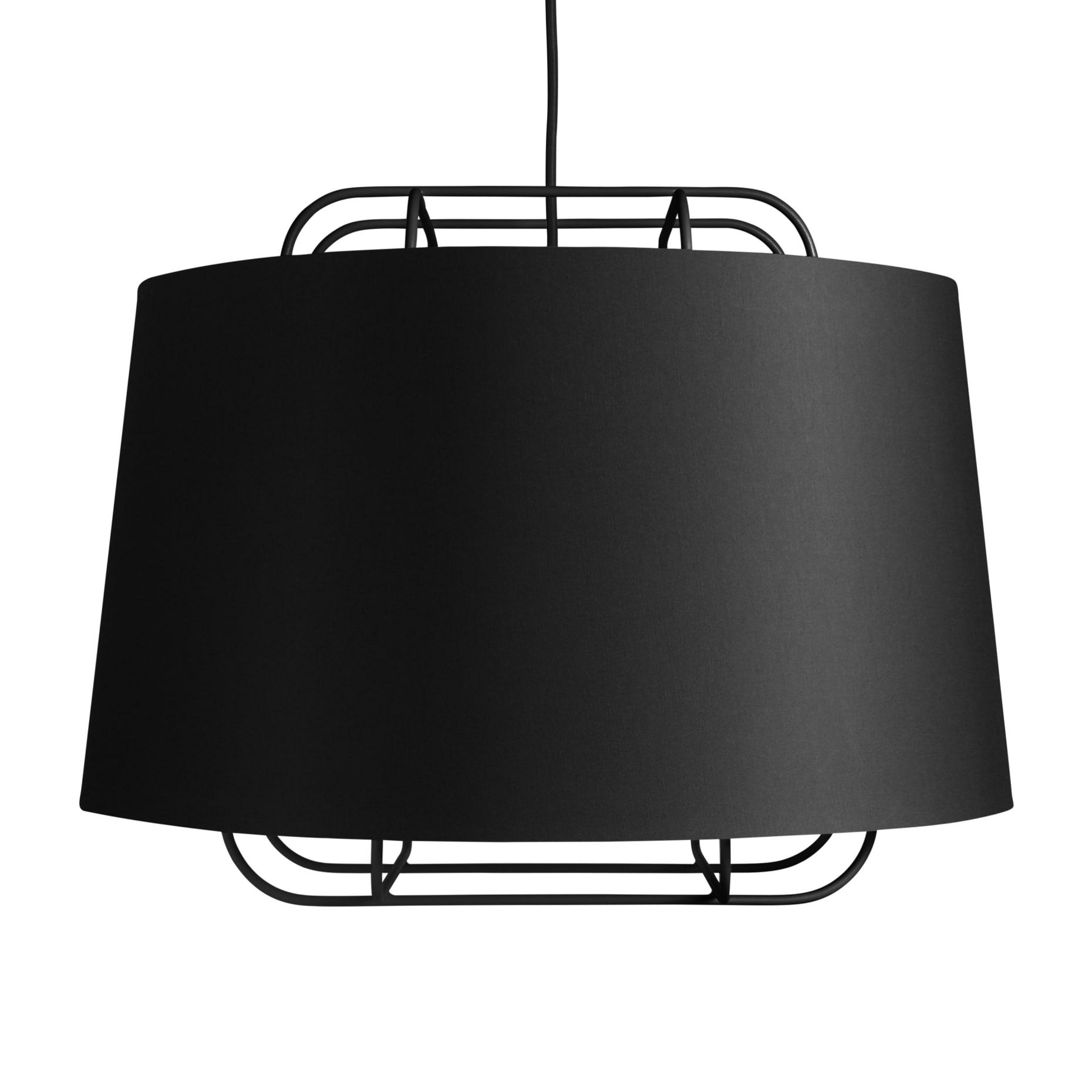 pe1 lrglpen bk perimeter large pendant black