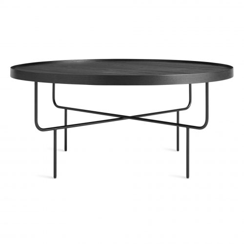rh1 coftbl bk front roundhouse coffee table black