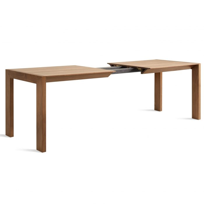 sb1 extble wl without leaf 34 high open second best extension table walnut