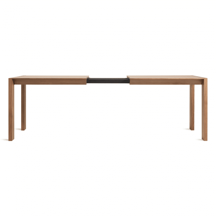 sb1 extble wl without leaf open second best extension table walnut