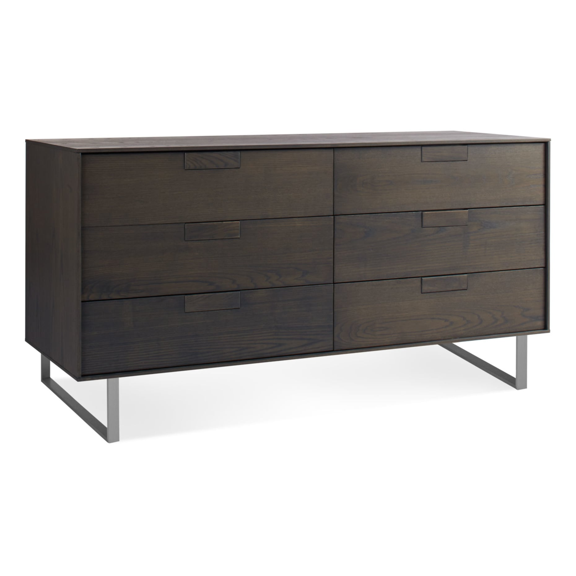 se1 6drw sk 34 series 11 6 drawer dresser smoke on ash 3