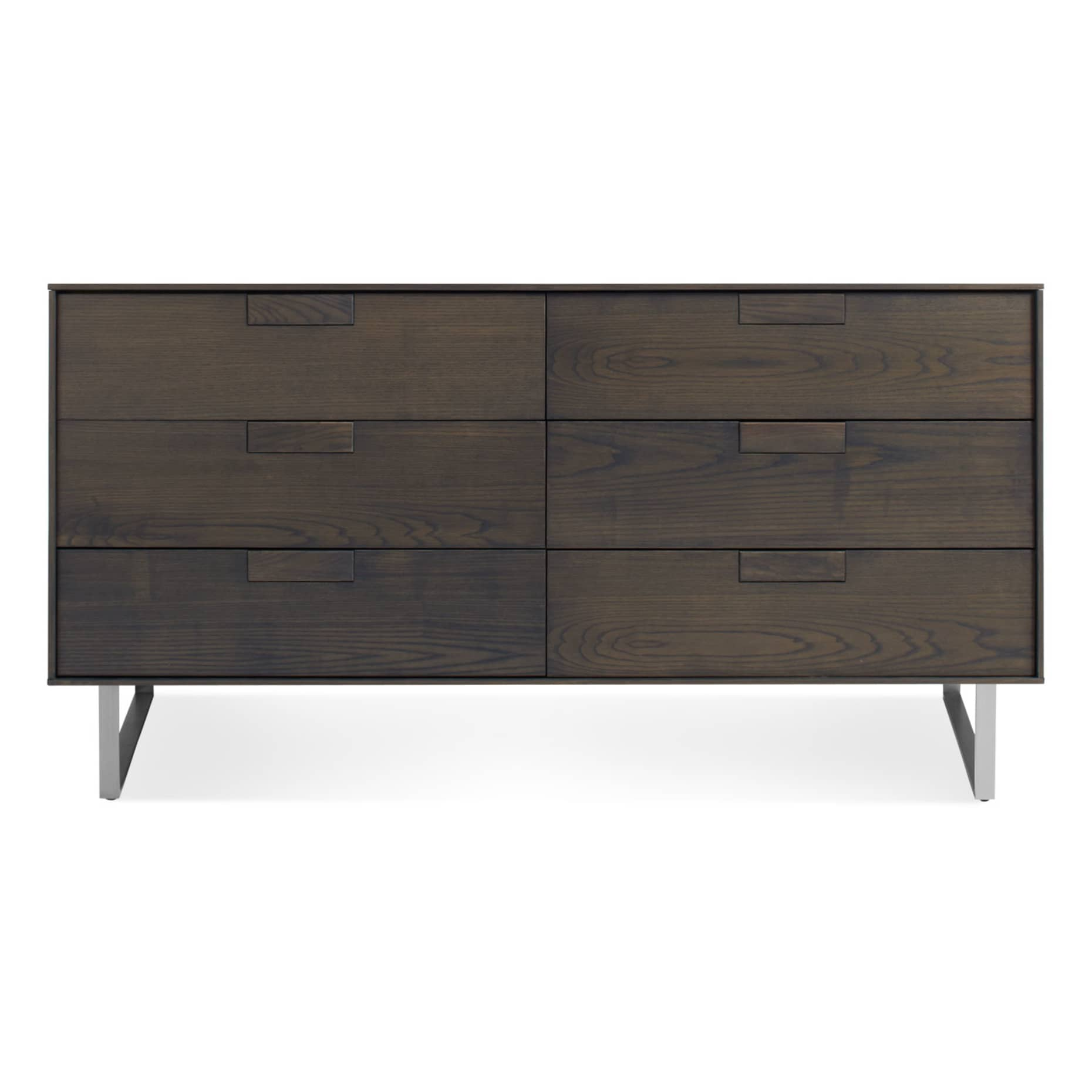 se1 6drw sk series 11 6 drawer dresser smoke on ash 2