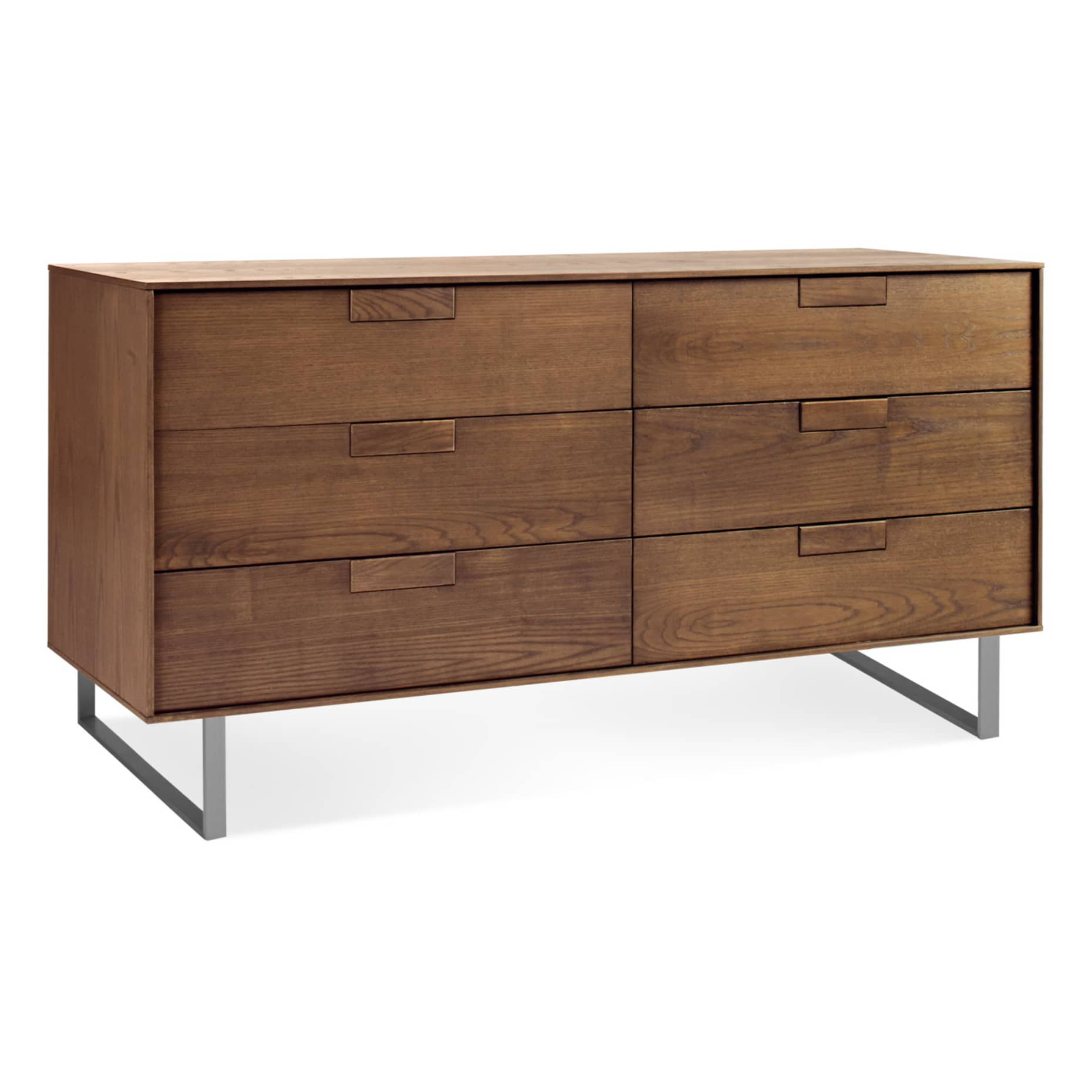 se1 6drwdr wl 34 series 11 6 drawer dresser walnut 3